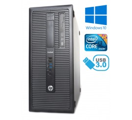 HP EliteDesk 800 G1 TOWER, i3-4130, 4GB RAM, 500GB HDD, W10