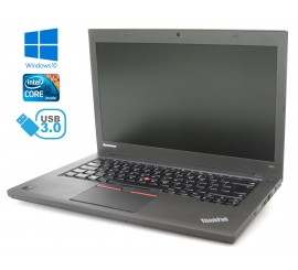 Lenovo ThinkPad T450 - i5-5400U, 4GB, 500GB HDD, Windows 10