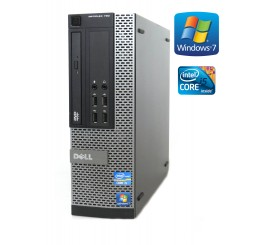 Dell OptiPlex 790 -SFF- Intel i5-2400, 4GB RAM, 250GB HDD, DVD-ROM, W7P
