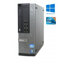 Dell OptiPlex 790 -SFF- Intel i5-2400, 4GB RAM, 250GB HDD, DVD-ROM, W10