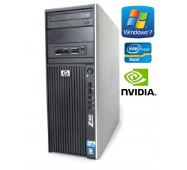 HP Workstation Z400 - Xeon W3565, 8GB RAM, 500GB HDD, Nvidia Quadro 4000