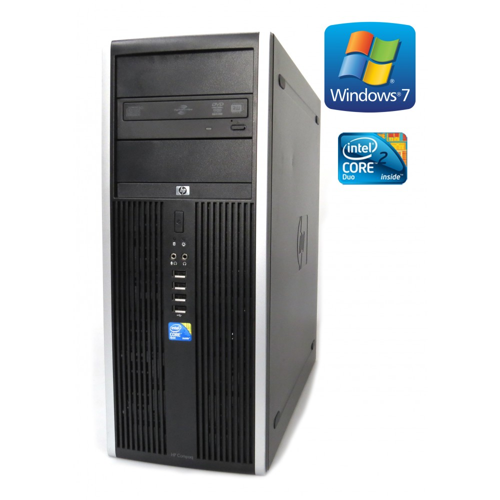 HP Compaq 8000 Elite - Core 2 Quad Q8400, 4GB, 250GB HDD