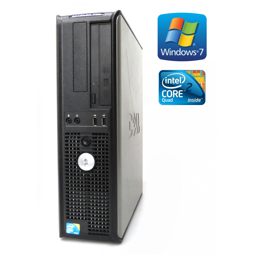 Dell OptiPlex 760 - DT- Intel Q9550, 4GB RAM, 160 HDD, DVD-RW, W7P