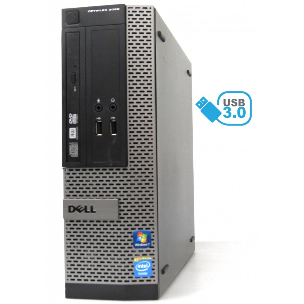 Dell Optiplex 3020 - Pentium G3220 3,00GHz, 4GB 500GB HDD,DVD-RW, Win 10