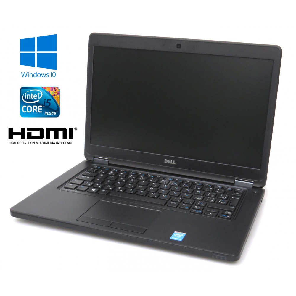 Dell Latitude E5450, Intel i7-5600U, 8GB, 256GB SSD, Windows 10, CZ klávesnice