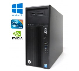 HP Z230 Workstation - i5-4590, 16GB, 256GB SSD +500GB HDD, Quadro K2000