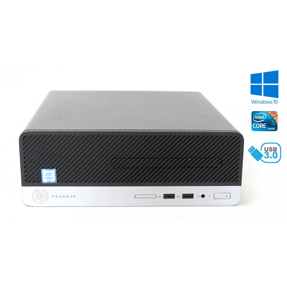HP ProDesk 400 G4 SFF - Intel i5-6500, 8GB RAM, 500GB HDD, Windows 10
