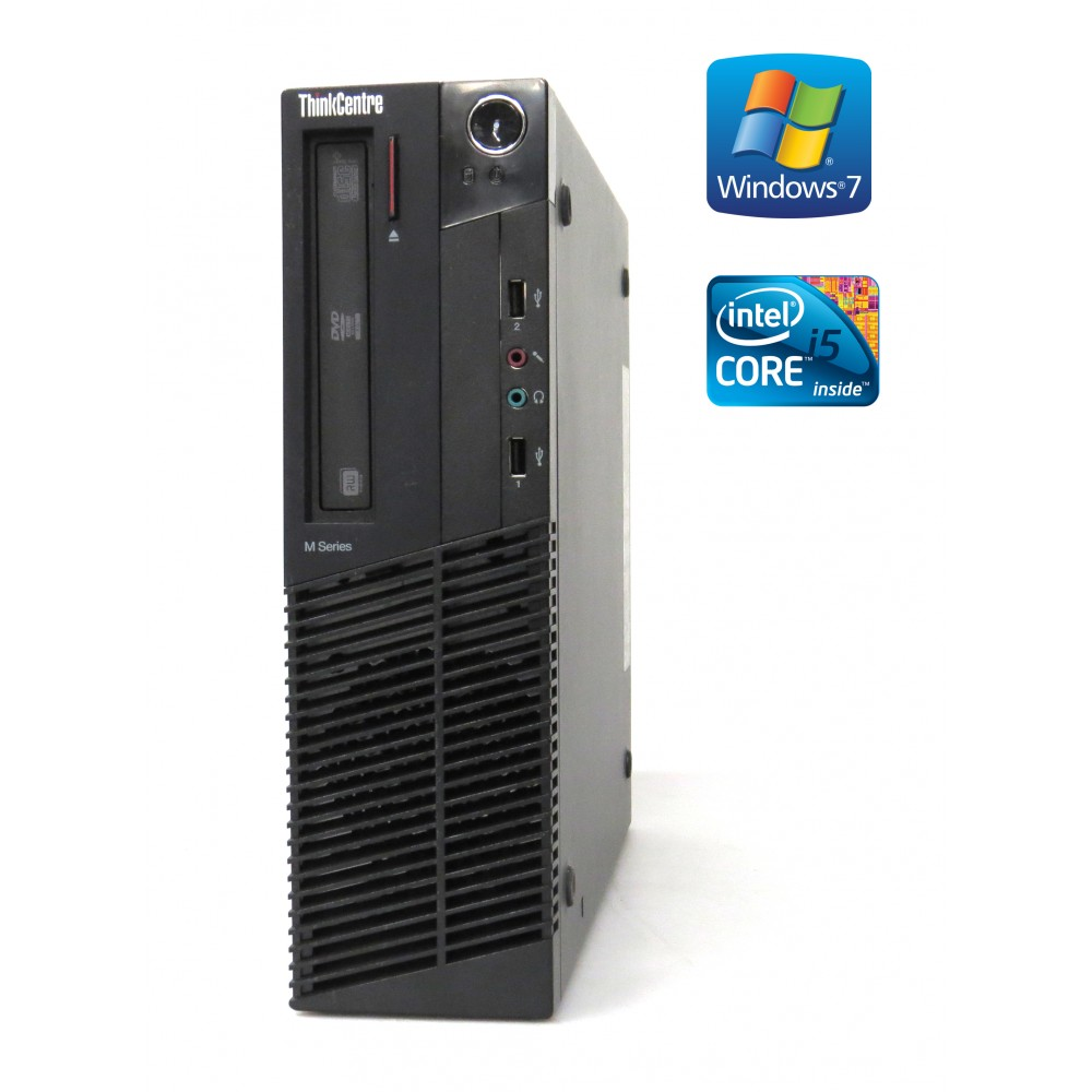 Lenovo ThinkCentre M91p - SFF, Intel i5-2500, 4GB RAM, 500GB HDD