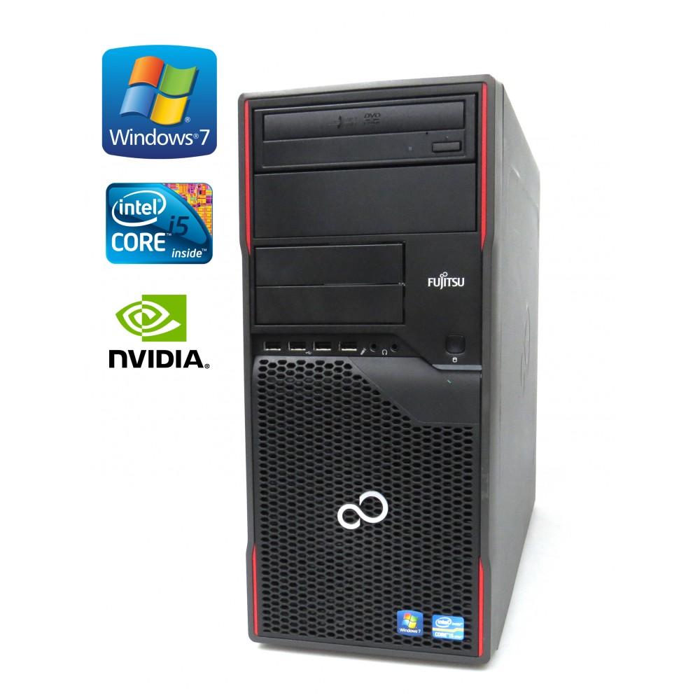 Fujitsu Esprimo P900 - i5-2400 - 3.10GHz, 4GB RAM, 500GB HDD, GeForce 605, Windows 7