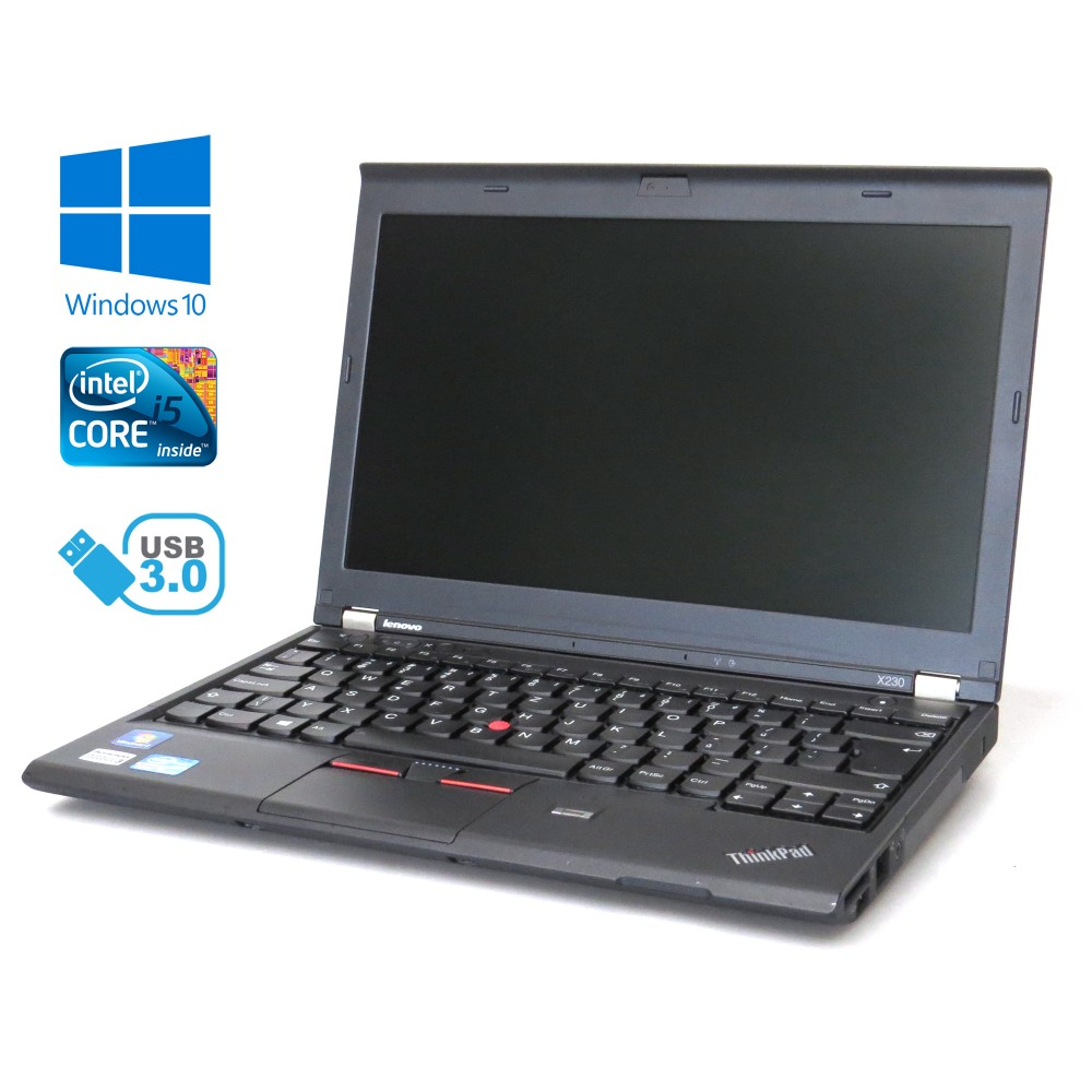 Lenovo ThinkPad X230 - i7-3520M, 8GB, 128GB SSD, Windows 10
