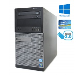 Dell Optiplex 9010 MT - Intel i7-3770, 8GB, 500GB HDD, RADEON HD 7470, W7P