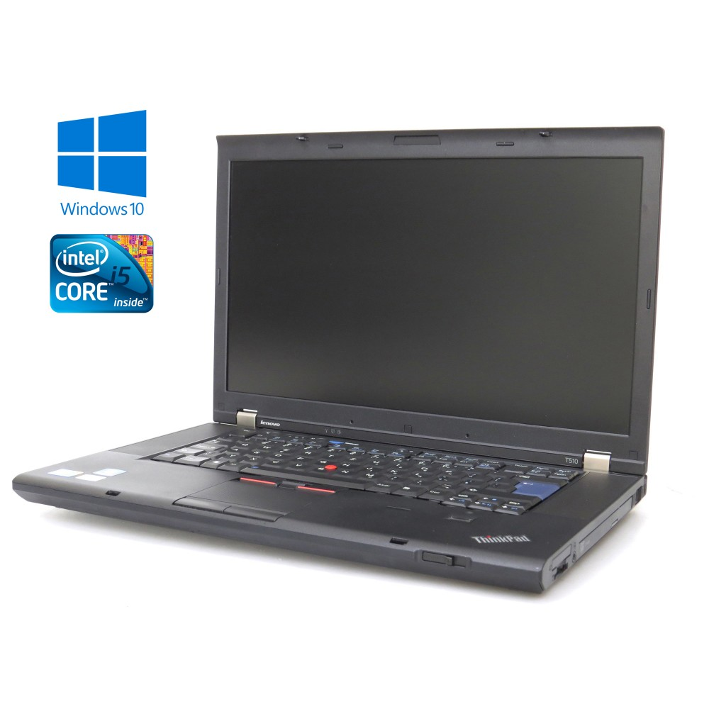 Lenovo ThinkPad T510 - Intel i5 / 4GB RAM / 320GB HDD / Windows 10