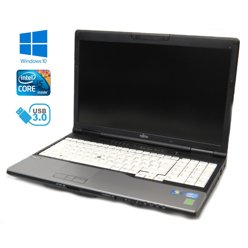 FUJITSU Lifebook E782 - i5-3360M, 8GB RAM, 320GB HDD, HD+, Windows 10