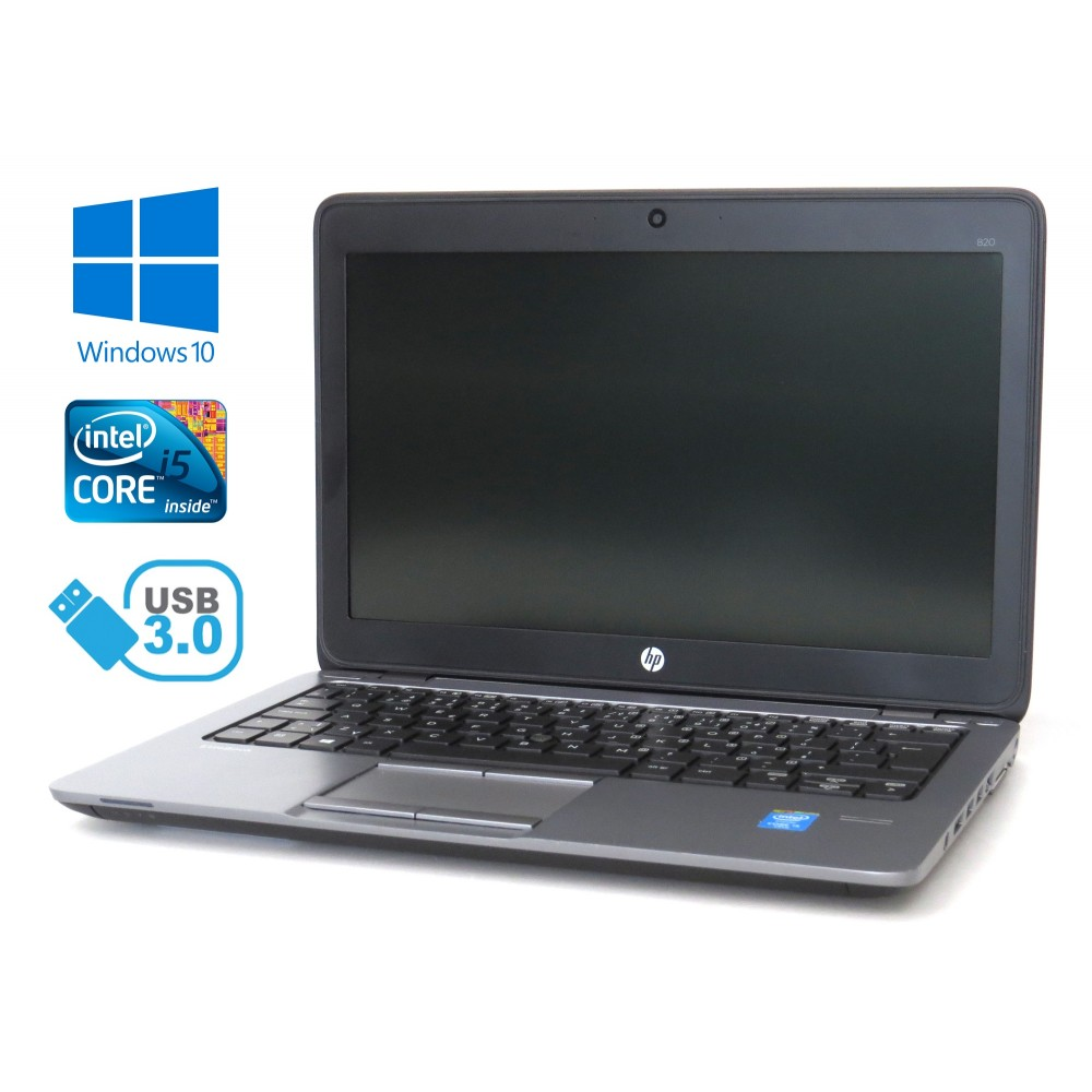 HP EliteBook 820 G1 - Intel i5-4310U/2.00GHz, 8GB RAM, 320GB HDD, Windows 10