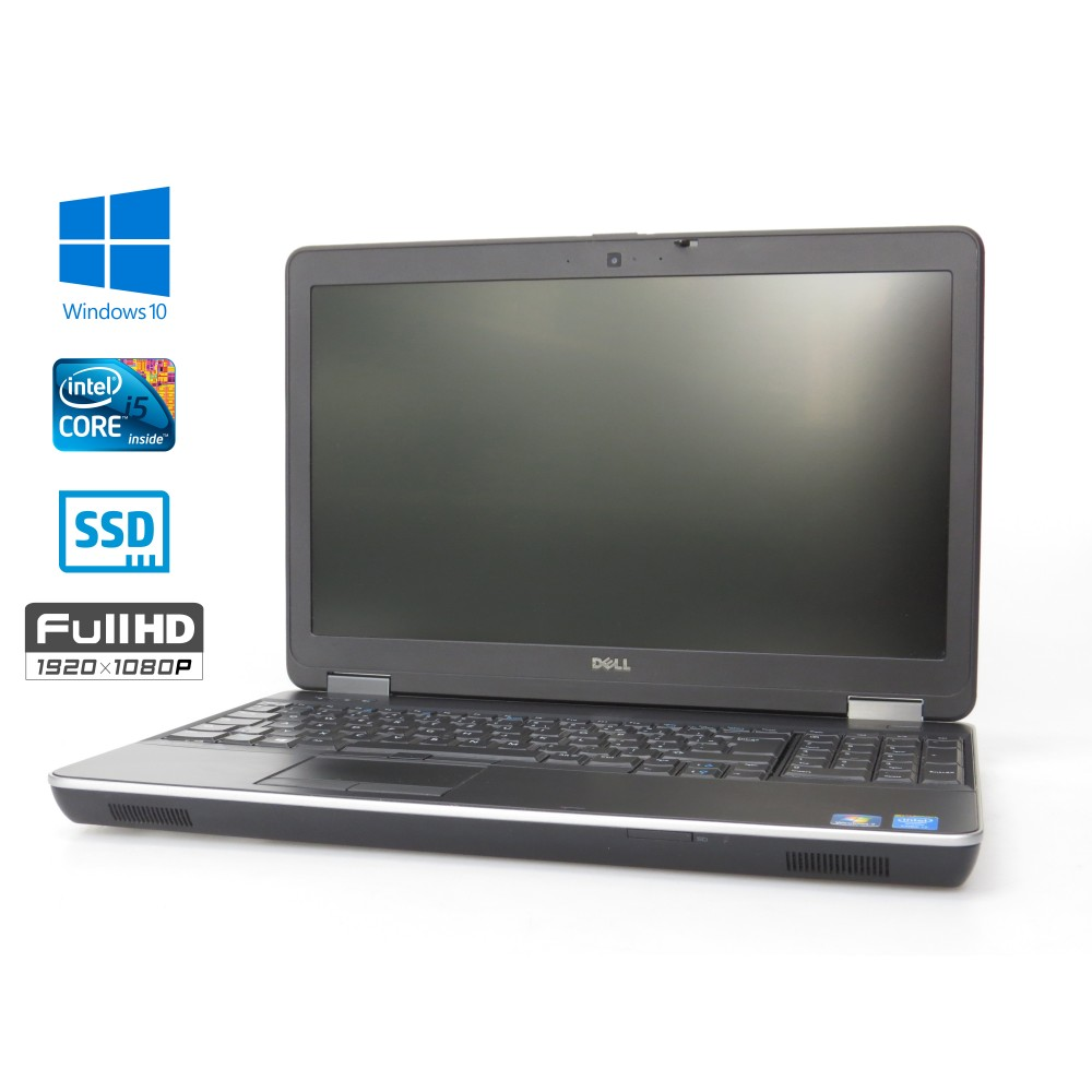 Dell Latitude E6540, i5-4310M, 8GB, 256GB SSD, Windows 7