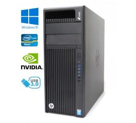 HP Z440 Workstation - Xeon Hexa-Core E5-1650 v3, 32GB, 750GB HDD, Quadro K620, W10