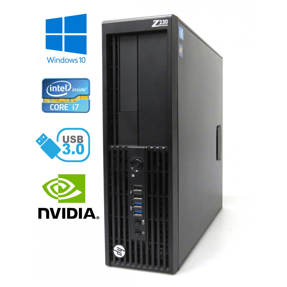 Herní HP Z620 - 2× Xeon E5-2690, 64GB RAM, 480GB SSD+1000GB HDD, Quadro K4000, Windows 7