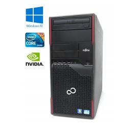 Fujitsu Esprimo P900 - i5-2400 - 3.10GHz, 4GB RAM, 500GB HDD, GeForce 605, Windows 10