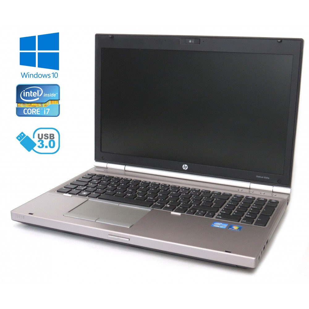 HP Elitebook 8560p, i7-2620M, 8GB, 320GB HDD, Windows 7
