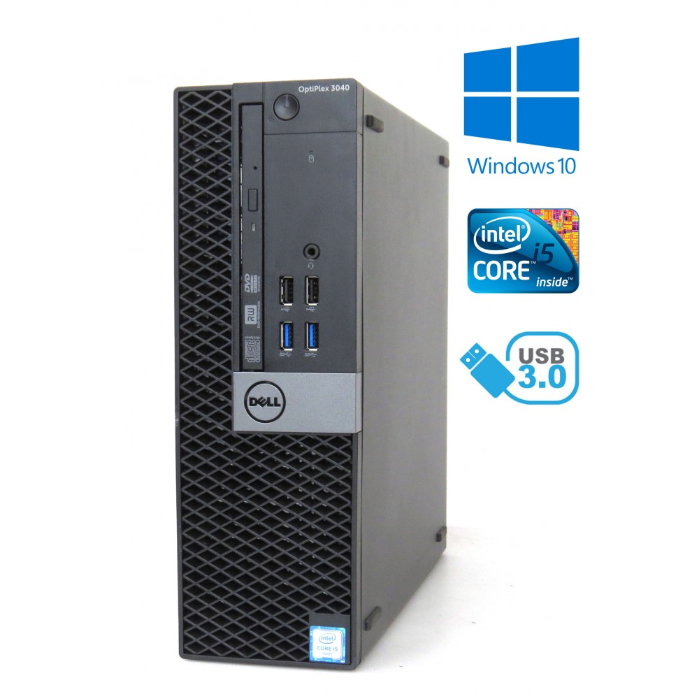 Dell Optiplex 3040 SFF - Intel i5-6500/3.20GHz - 8GB RAM - 500GB HDD - Windows 10