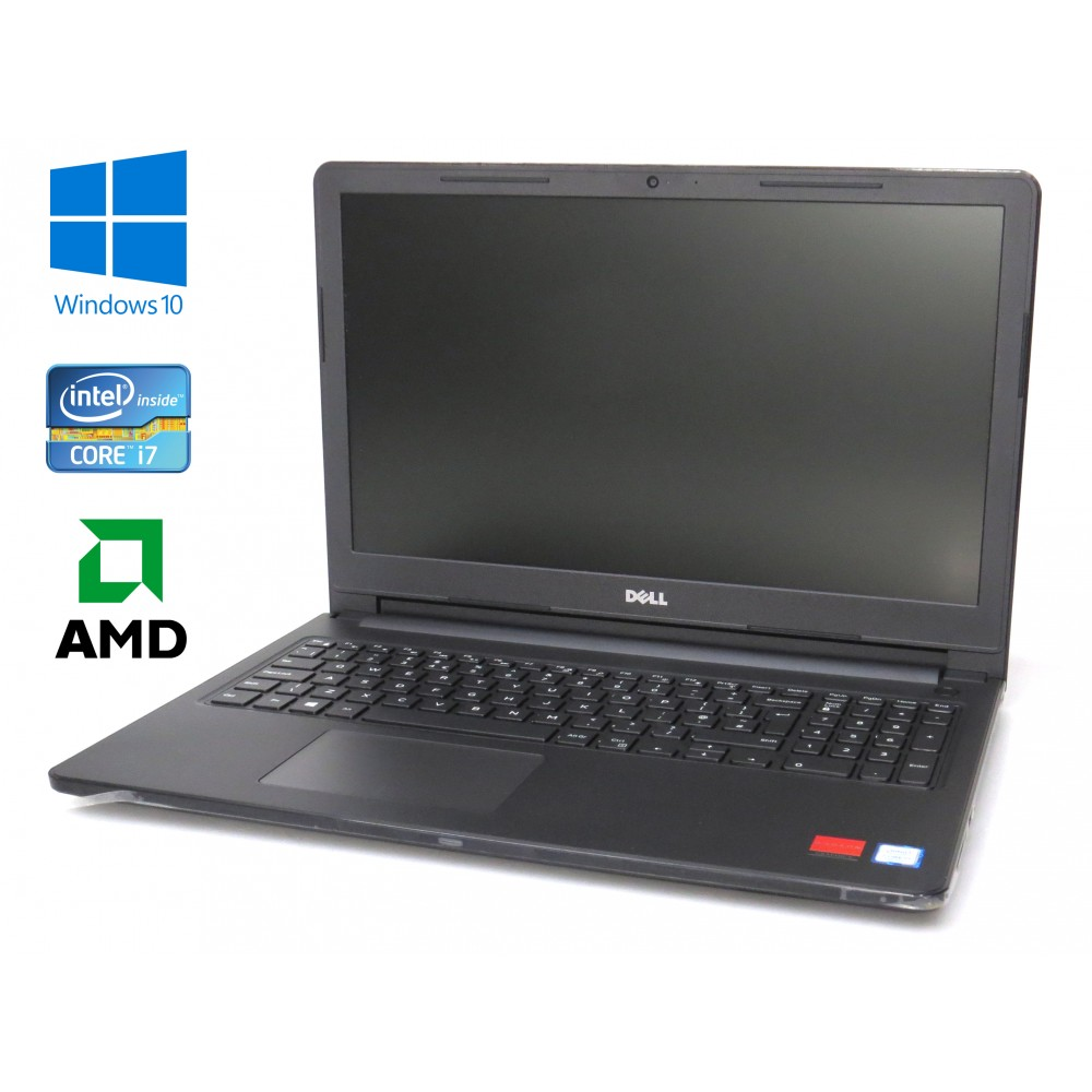 "Dell Inspiron 15 (3576) černý - i7-8550U/1.80GHz, 8GB RAM, 1TB HDD, AMD Radeon, DVD-RW, 15,6"" FHD, Windows 10 Home"