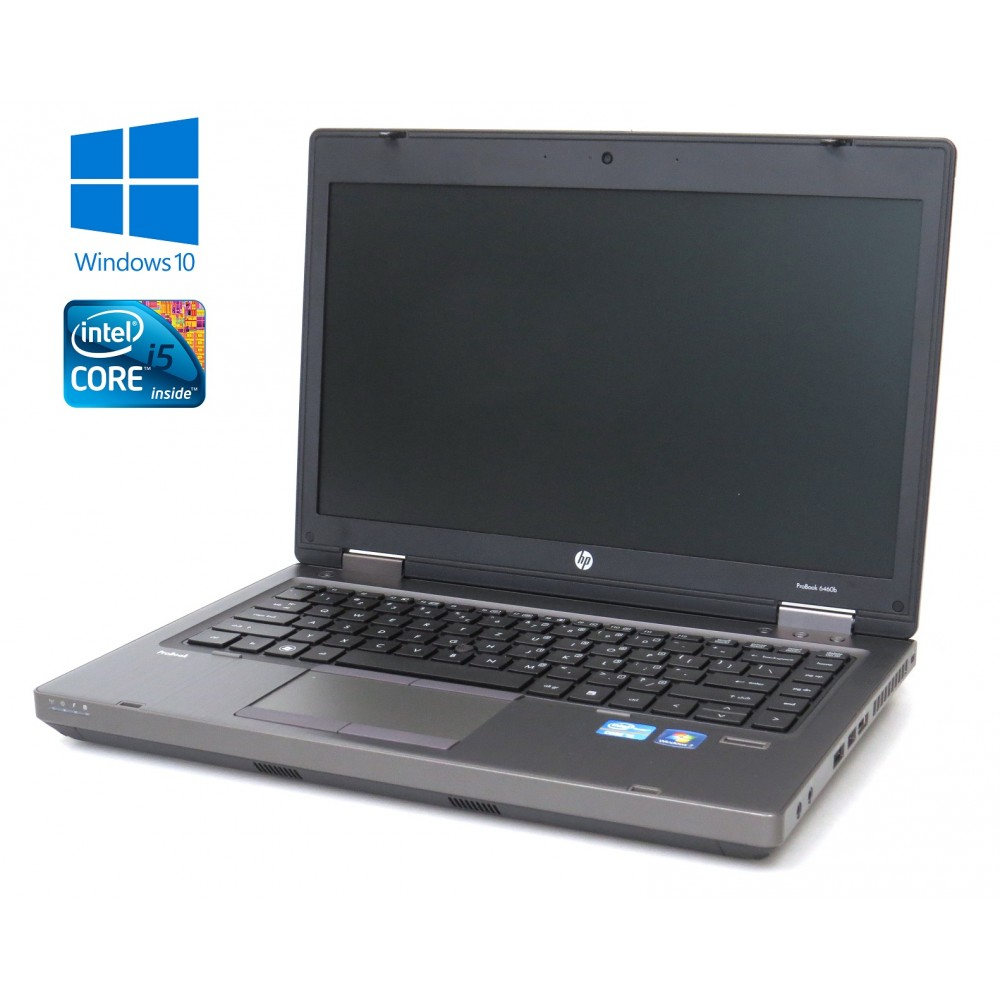 HP ProBook 6460b - i5-2520M, 4GB RAM, 320GB HDD, DVD-RW, Windows 10