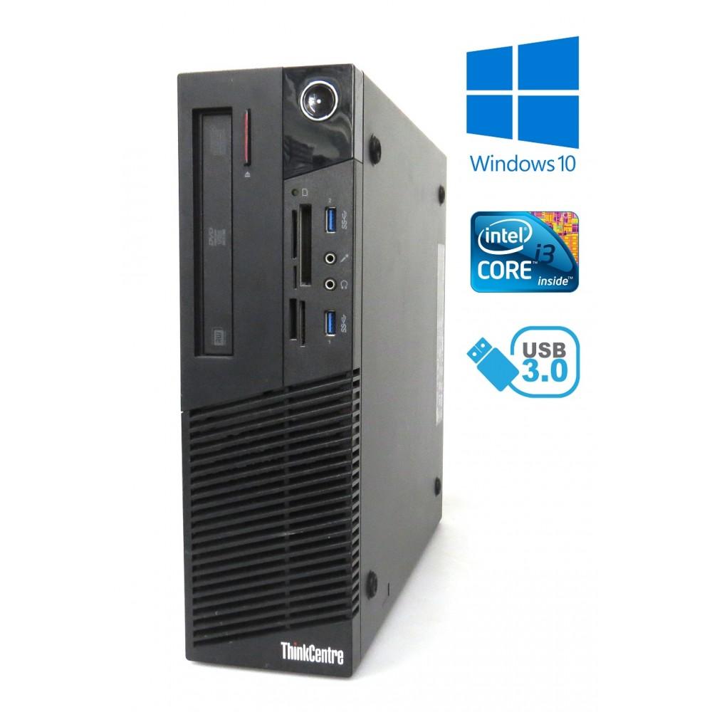 Lenovo ThinkCentre M83 - i3-4350 / 8GB / 256GB SSD / WiFi, Bluetooth / Win 10