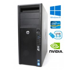 HP Z420 Workstation - Xeon E5-1650 v2, 32GB, 1TB HDD, Quadro K600