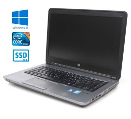 "HP ProBook 640 G1 - Intel i5-4300M, 4GB, 128GB SSD, 14"", Windows 10"