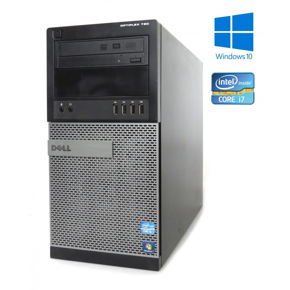 Dell OptiPlex 790 - MT - i7-2600, 8GB RAM, 500GB HDD, DVD-RW, W7P