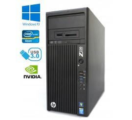 HP Z230 Workstation - Xeon E3-1240 v3, 16GB, 480GB SSD + 1TB HDD, Quadro K2000