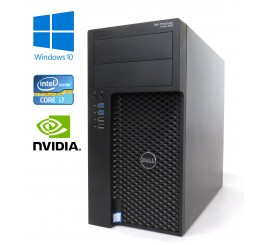 Dell Precision Tower 3620 - Intel i7-6700K, 32GB RAM, 1TB HDD, NVIDIA Quadro, Windows 10