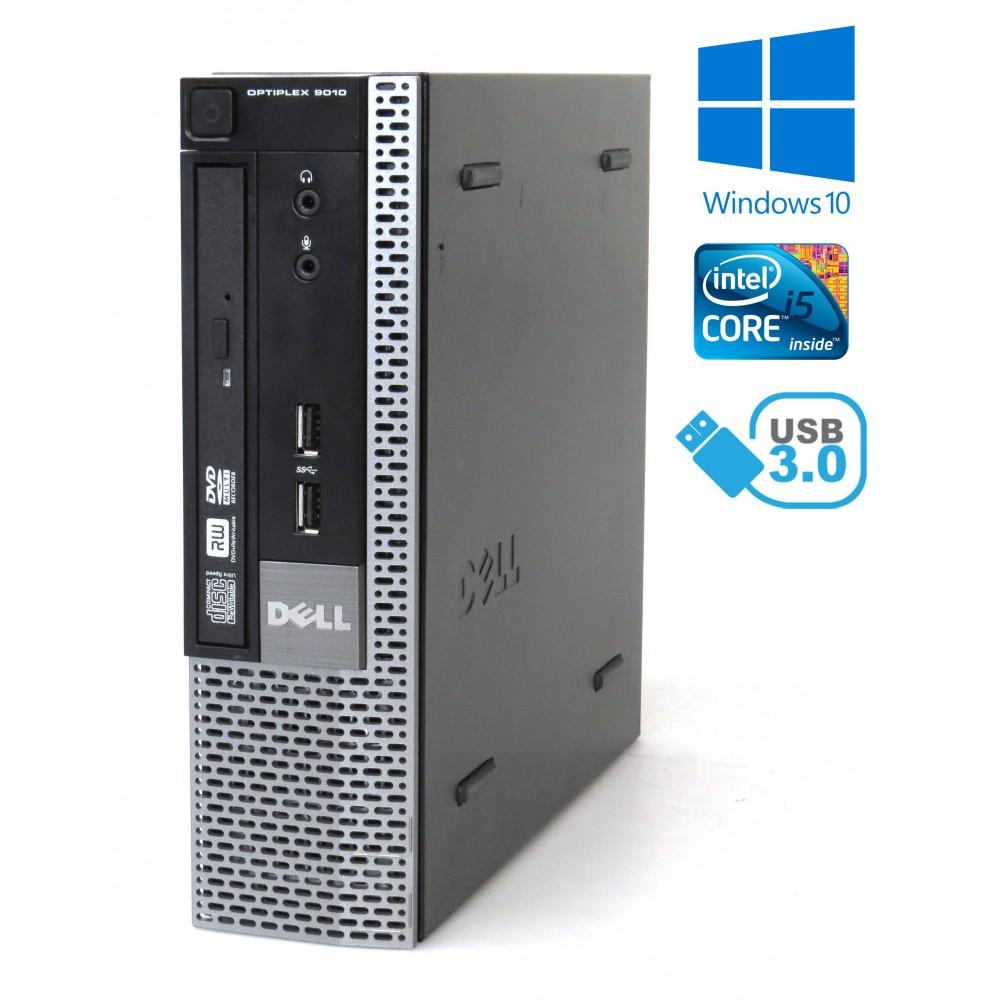Dell Optiplex 9010 USFF - i5-4570S/ 4GB RAM / 250GB HDD/ DVD-RW