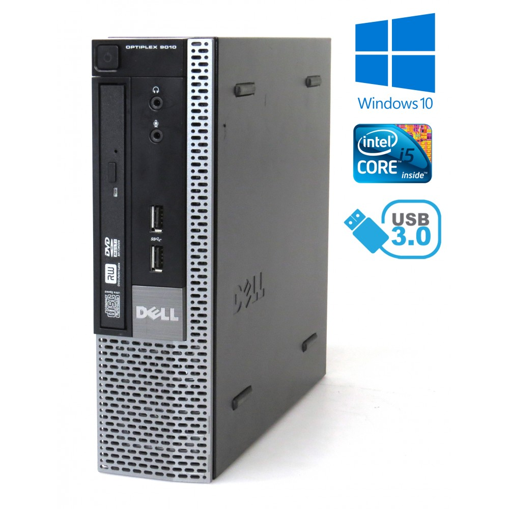 Dell Optiplex 9010 USFF - i5-4570S/ 4GB RAM / 250GB HDD/ DVD-RW