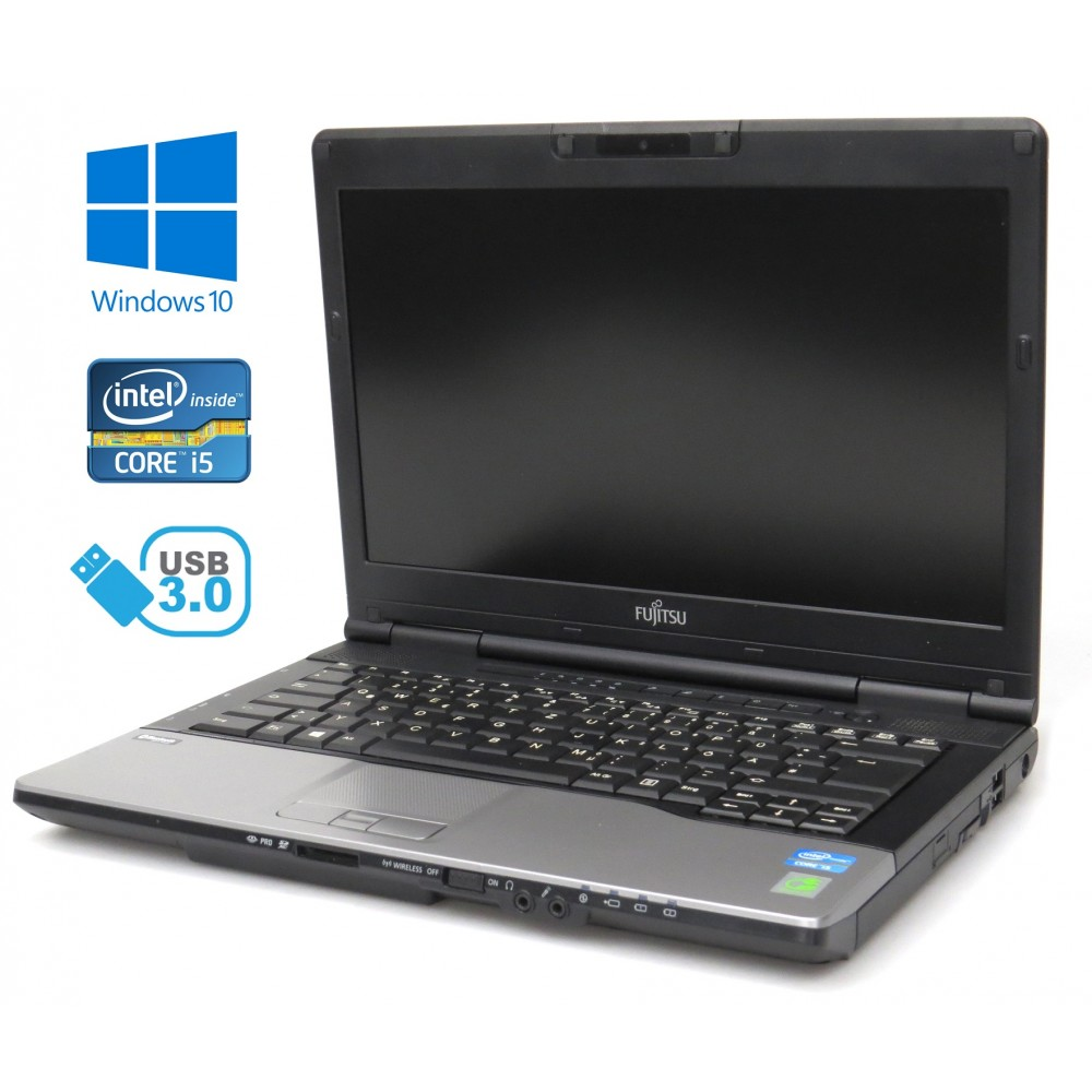 FUJITSU Lifebook S782 - i5-3230M/2.60GHz, 4GB RAM, 320GB HDD, HD+, Windows 10