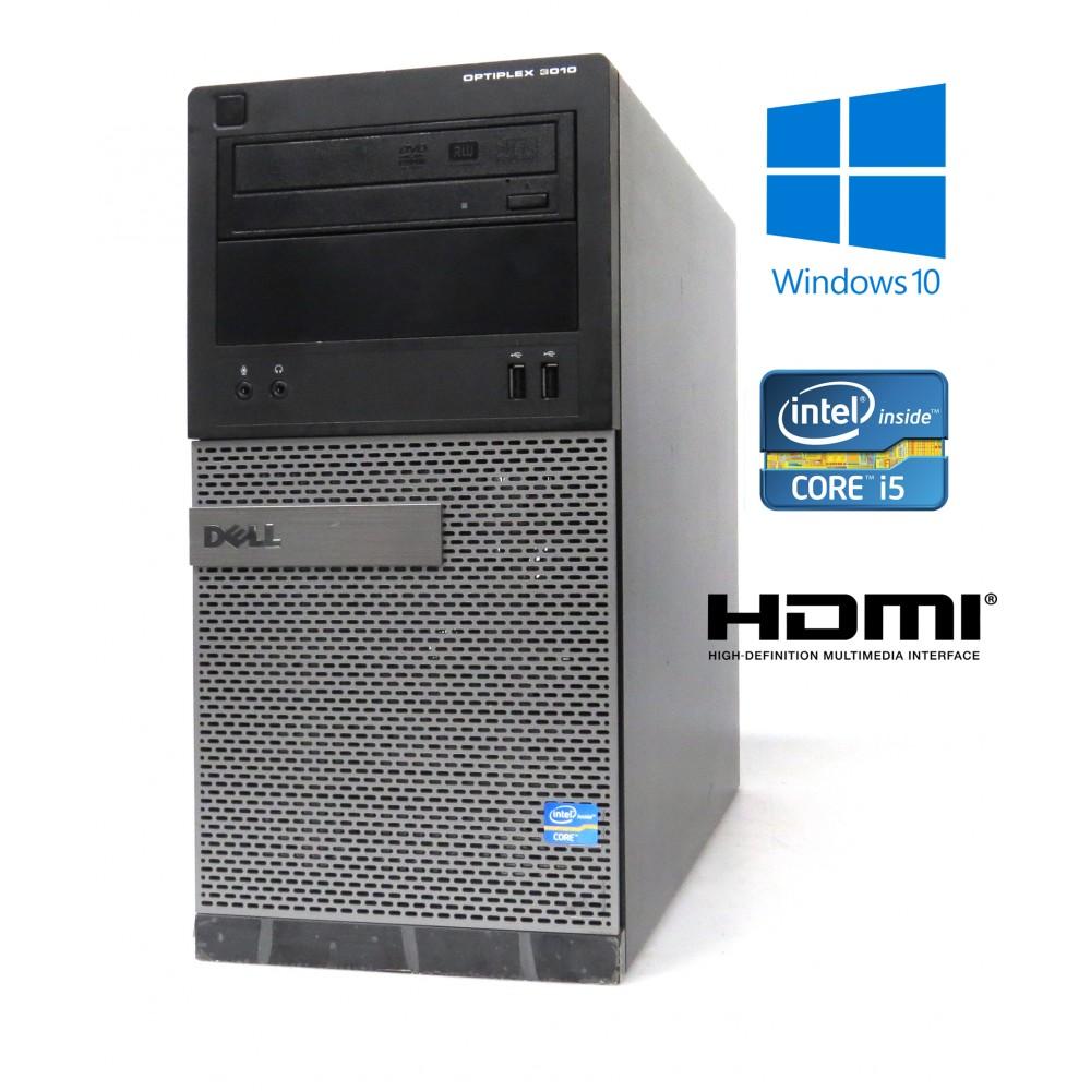 Dell Optiplex 3010 MT-i3-3240 3.40GHz, 4GB, 500GB, Windows 10, HDMI