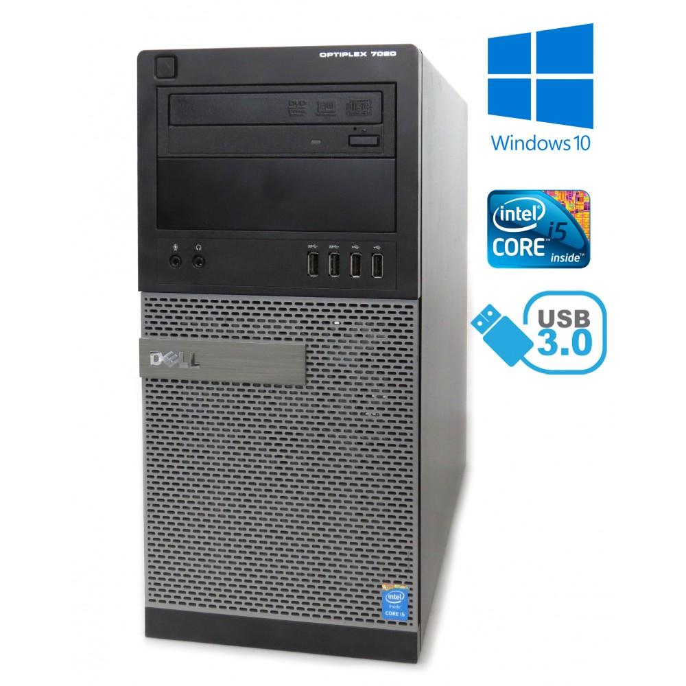 Dell Optiplex 7020 MT - i5-4590 / 8GB RAM / 500GB HDD/ DVD-RW / Windows 10