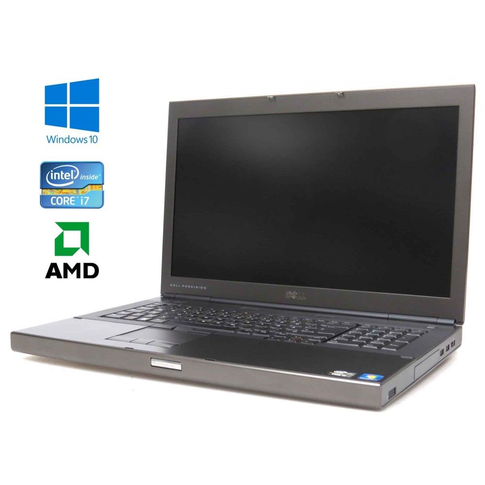 Dell Precision M6600, intel i7-2640M/2.80GHz, 16GB RAM, 128GB SSD + 500GB HDD, AMD Radeon, Windows 10