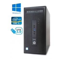 HP ProDesk 600 G2 MT - Intel i3-6100/3.70GHz , 4GB RAM, 500GB HDD, Windows 10