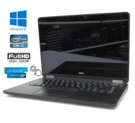 Dell Latitude E7270 - i5-6300U/2.40GHz, 8GB RAM, 256GB SSD, Dotykový Full HD displej, Windows 10
