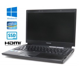 Toshiba Portégé R700, Intel i7-620M/2.66GHz, 4GB RAM, 128GB SSD, Windows 10