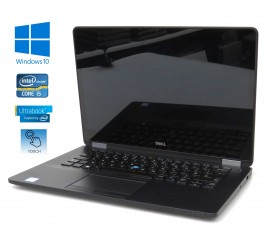 Dell Latitude E7470- i5-6300U/2.40GHz, 8GB RAM, 256GB SSD, QHD dotykový displej, Windows 10