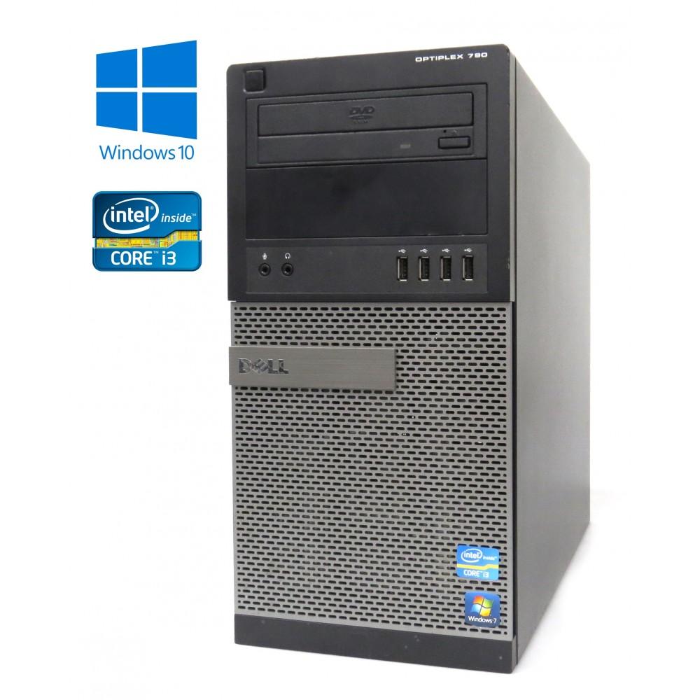 Dell OptiPlex 790 -MT - ntel i3-2120/3.30GHz, 4GB RAM, 250GB HDD, DVD-ROM, W10