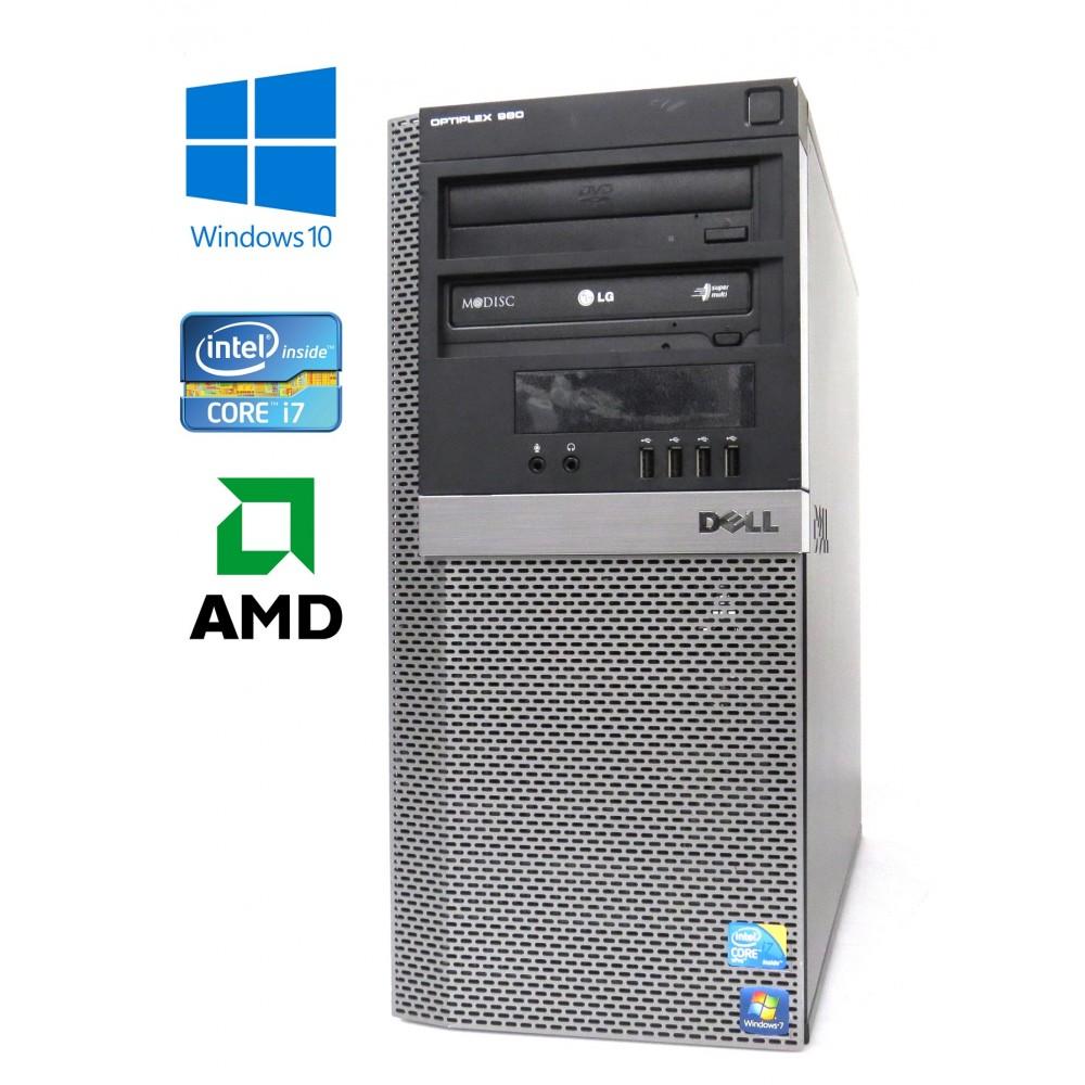 Dell OptiPlex 980 - MT - Intel i7-860/2.80GHz, 8GB RAM, 500GB HDD, 2×DVD-ROM, ATI RADEON, W10