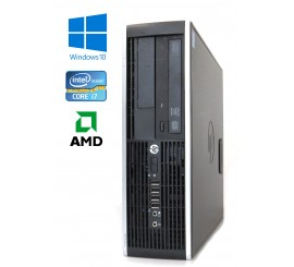 HP Compaq Elite 8200 SFF, Intel i7-2600/3.40GHz, 8GB, 240GB SSD, AMD Radeon HD 6450, Windows 10