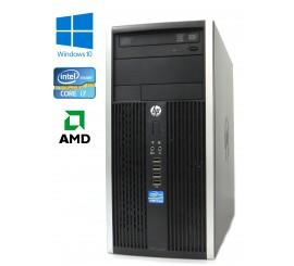 HP Compaq Elite 8200 CMT, Intel i7-2600/3.40GHz, 8GB, 250GB HDD, AMD Radeon HD 6450, Windows 10