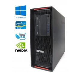 Lenovo ThinkStation P500 - Xeon E5-1620 v3/3.50GHz, 32GB, 240GB SSD+1TB HDD, Quadro K4200, Windows 10