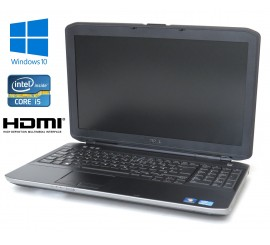 "Dell Latitude E5530, i5-3340/2.70GHz, 8GB, 320GB HDD, 15.6"" LCD, Windows 10"