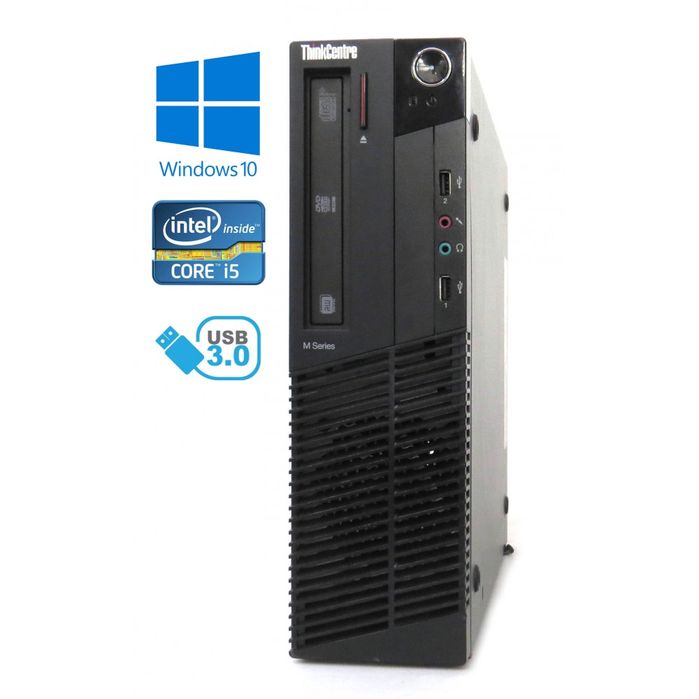 Lenovo ThinkCentre M92p - SFF, Intel i5-3470/3.20GHz, 4GB RAM, 500GB HDD, Windows 10
