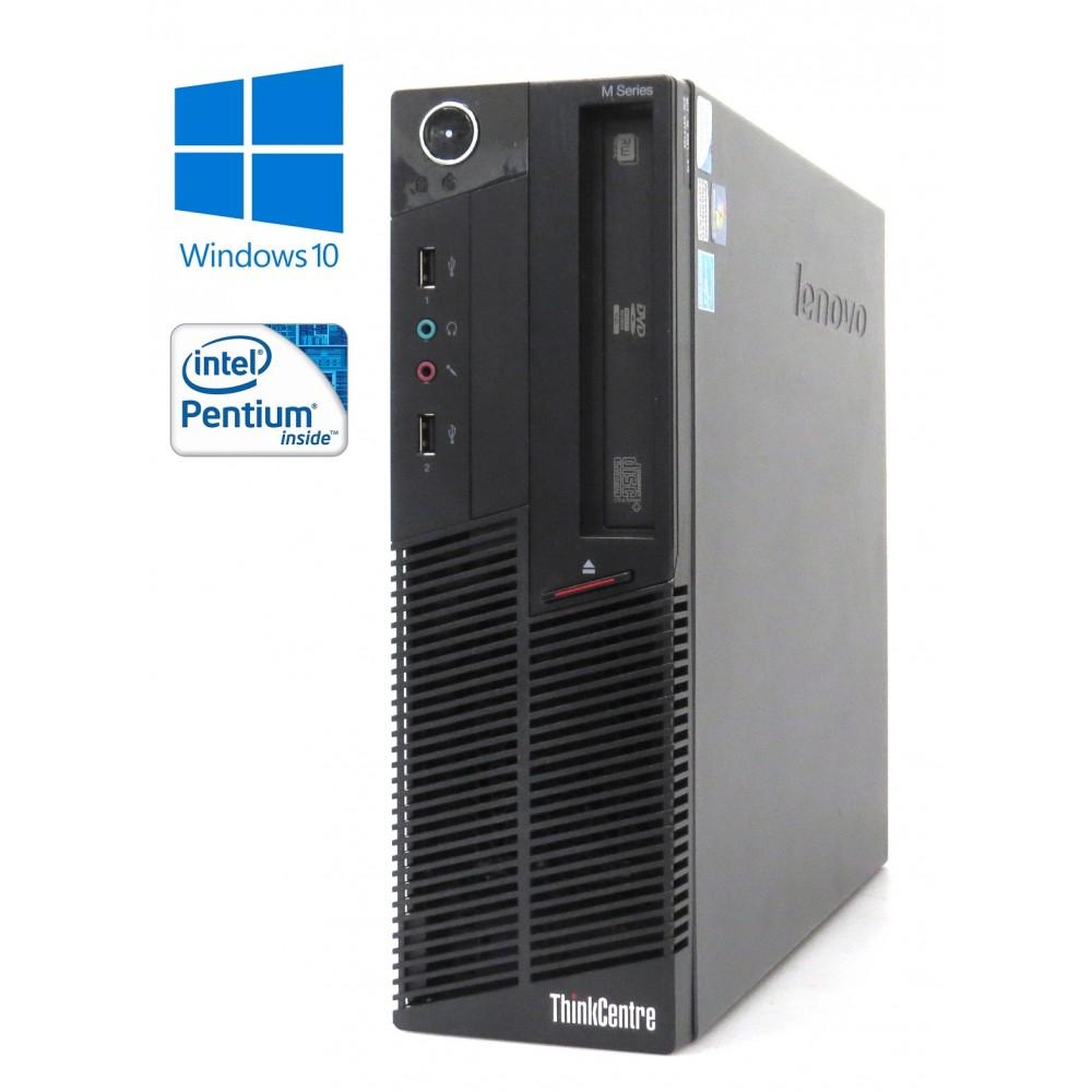 Lenovo ThinkCentre M90 - SFF, Pentium® G6950/2.80GHz, 4GB RAM, 250GB HDD, DVD-RW, Windows 10